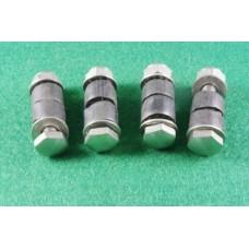 4 finger bracket screws /rubbers/ nut/ locknut