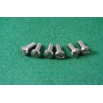 6 front engine plate cover screws 2-1309