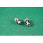 2 rear brake light switch screws/nylocs