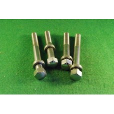 4 outer cylinder head bolts & washers Iron Head